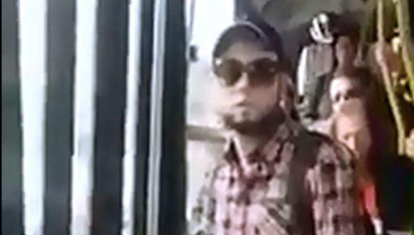 Tiró gas pimienta en el colectivo cuando lo acusaban de abuso