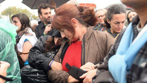 Desde adentro: así se vivió la procesión por Cristina en Comodoro Py