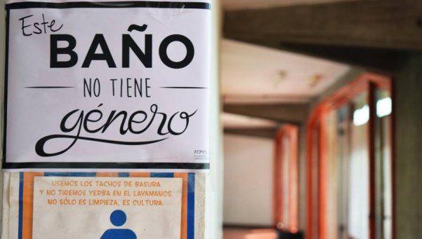 """Una facultad de Mendoza ya cuenta con baños """"unisex"""""""