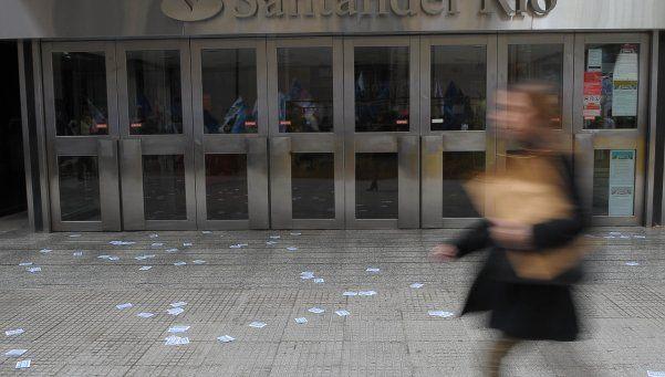 Bancarios anunciaron un nuevo paro para el jueves 15