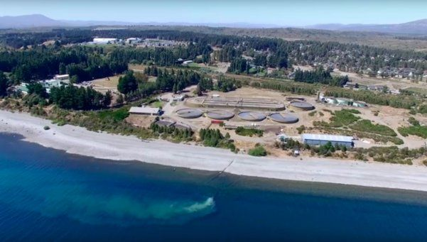 Preocupante contaminación del Lago Nahuel Huapi