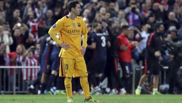 El nivel de Messi baja cuando lo atrapan los escándalos
