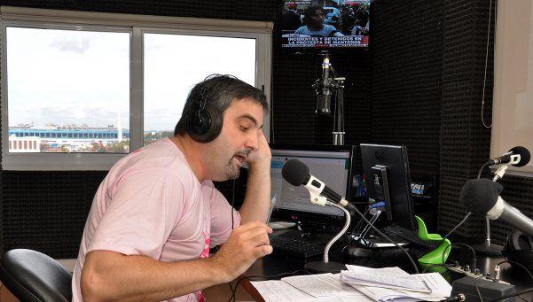 Debutó en radio Punto Doce, un magazine sobre el Conurbano
