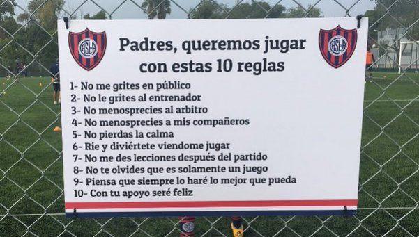 La historia detrás del cartel de San Lorenzo que se volvió viral