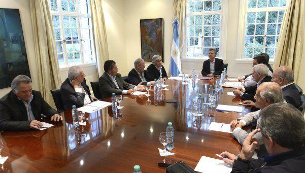 Para Macri, la reunión con la CGT fue positiva