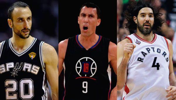 Histórico: por primera vez, tres argentinos disputan los play-off de la NBA