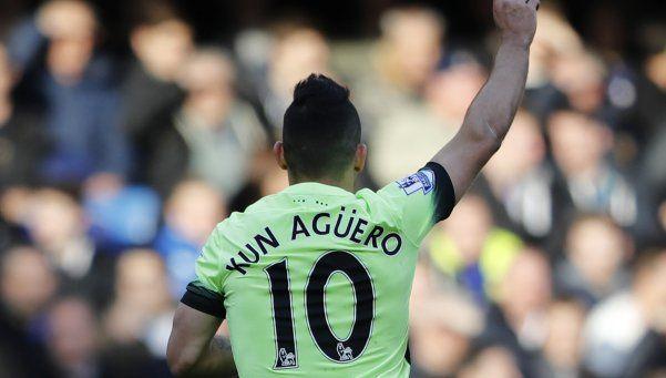 Agüero descolló en la goleada del City al Chelsea