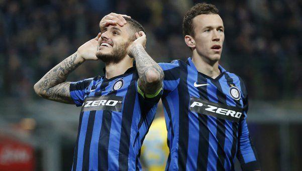 Icardi dejó nocaut al Napoli y la Juve se relame