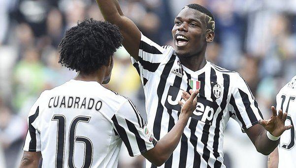 Juventus goleó a Palermo y se acerca al scudetto