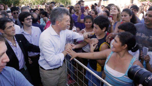 Para Macri, la aparente mejora social fue a costa de usar las joyas de la abuela