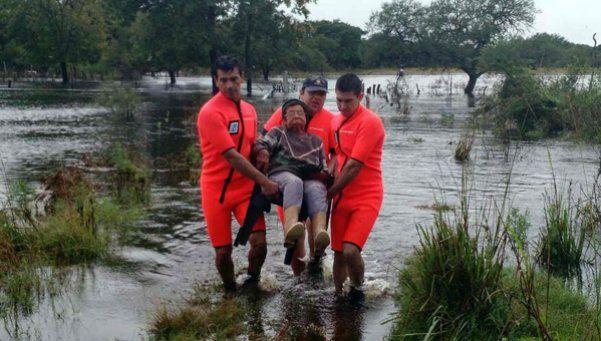 Casi 29 mil damnificados por inundaciones en el Litoral y Córdoba