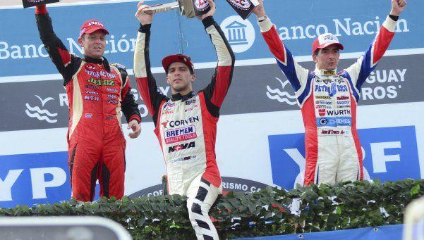 Rossi fue del auto al podio, y de ahí a la enfermería
