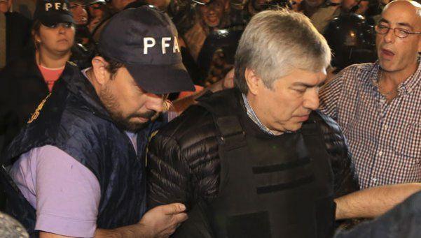 Lázaro Báez, ante los jueces de la Cámara Federal