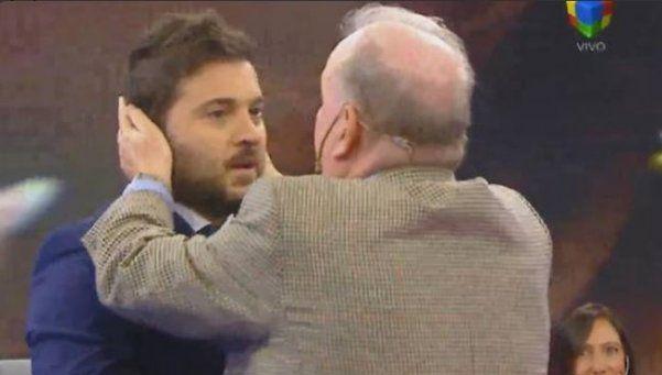 Brancatelli y Sabsay, de la discusión a un desopilante abrazo