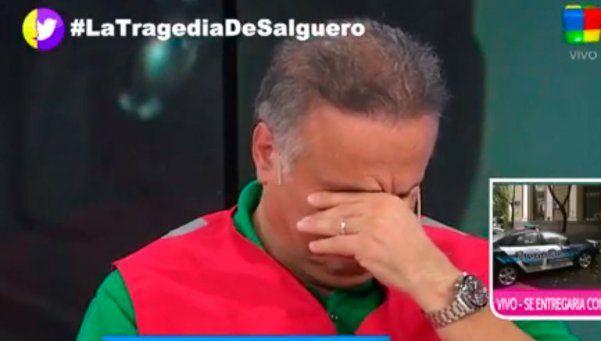 El llanto de Alberto Crescenti por las muertes en la Time Warp