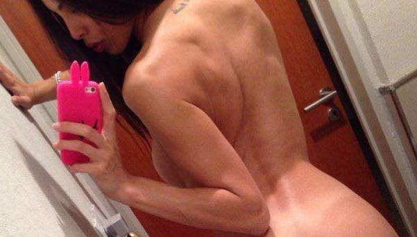 Se filtraron selfies íntimas hot de Maypi Delgado