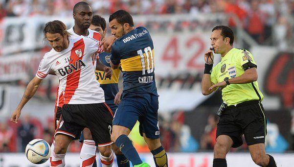 Darío Herrera será el árbitro del Boca-River