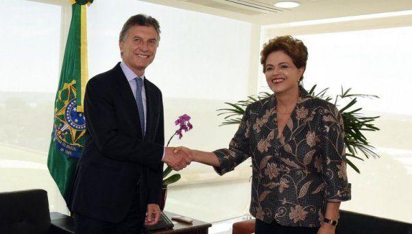 Macri: Dilma vendrá el 10 de diciembre a Buenos Aires