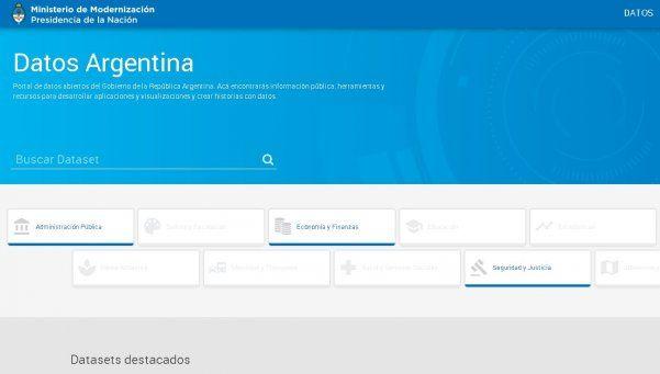 Inauguraron el Portal Nacional de Datos Públicos