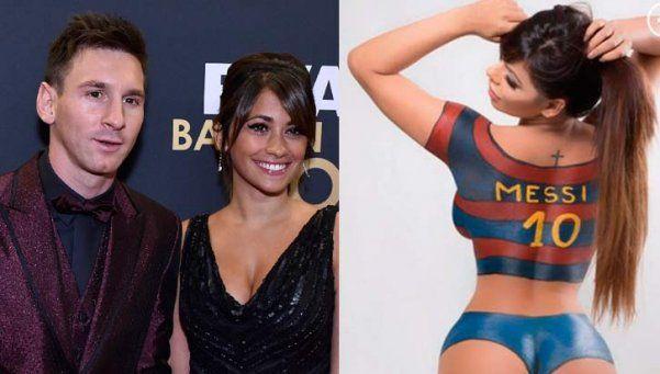Antonella obligó a Messi a bloquear a la Miss BumBum