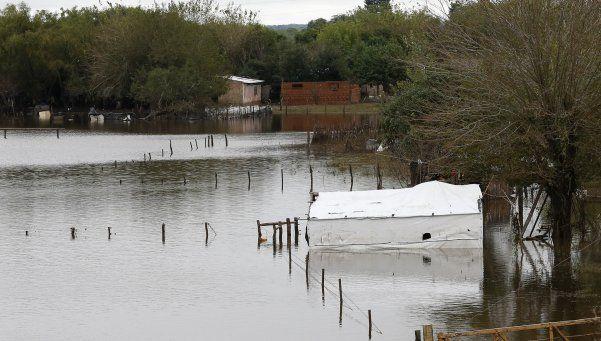 Inundaciones: son 14 mil los afectados en Entre Ríos