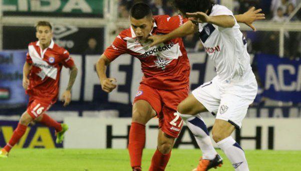 Vélez le ganó a Argentinos en el Amalfitani