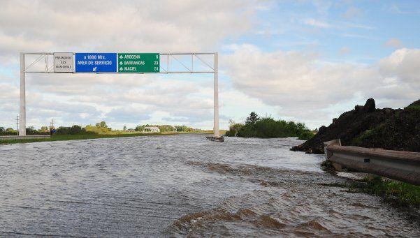 Las lluvias no dan respiro al Litoral, que sigue bajo el agua