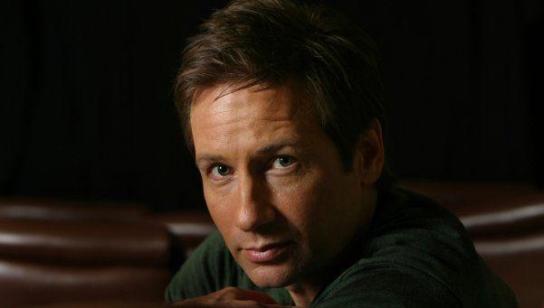 Dave Duchovny de los X-Files a la guiitarra