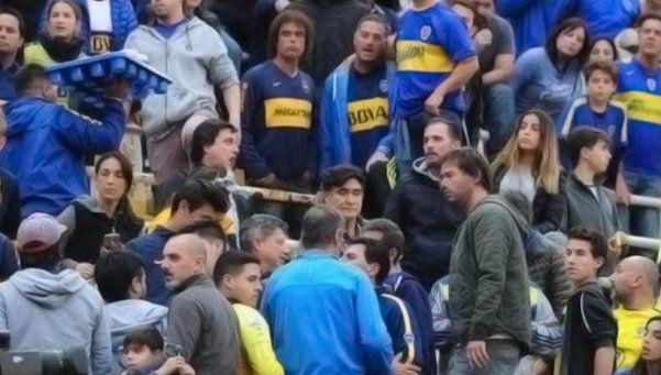 Video | Carlos Zannini la pasó mal en el Superclásico