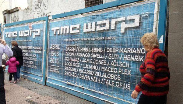 Time Warp: detuvieron a un dealer que estaba prófugo