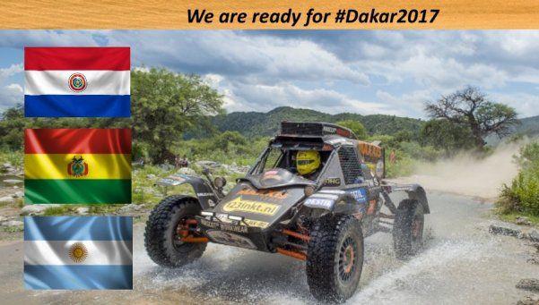 El Dakar 2017 aún tiene a Buenos Aires y suma a Paraguay