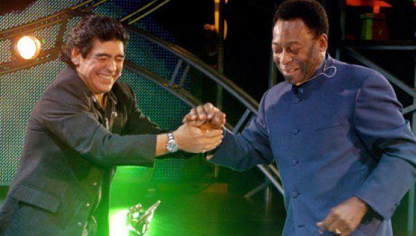 Encuentro entre Maradona y Pelé fue suspendido por amenaza terrorista