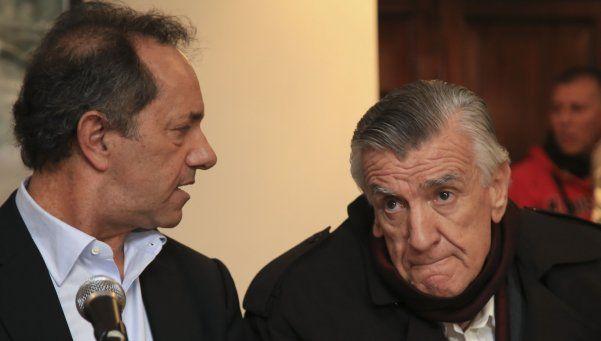 El PJ proclamó la lista de unidad con Gioja y Scioli