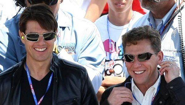 Tom Cruise se fue a vivir con el líder de la Cienciología