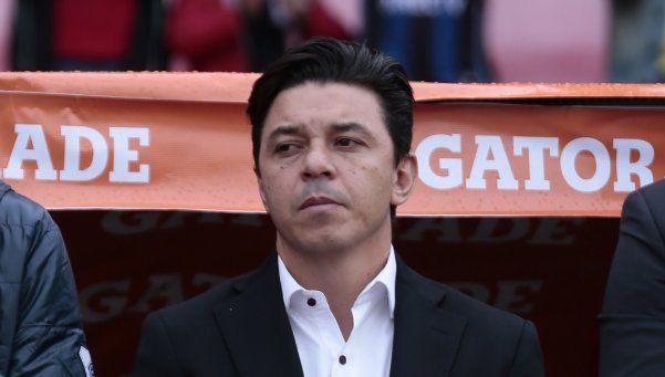 Gallardo: Necesitamos dos goles y podemos hacerlos