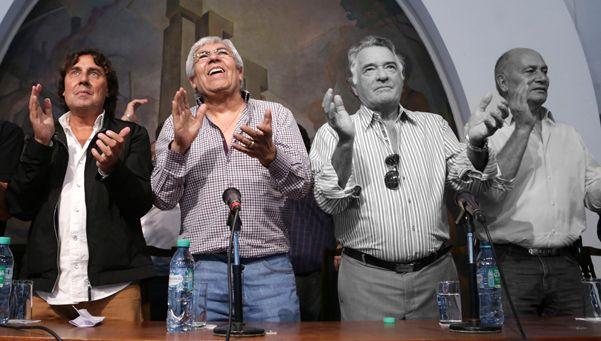 Las voces de la marcha y los faltazos de Barrionuevo y Momo Venegas