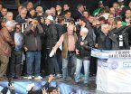 Las frases más picantes de la cúpula sindical en la marcha