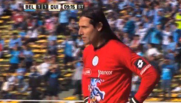 ¿Qué quiso hacer? Blooper de Olave y gol de Quilmes