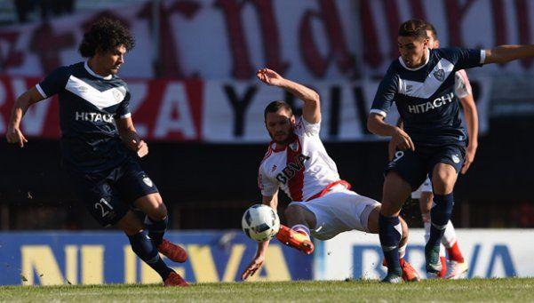 Tras la derrota en la Copa, River no pudo contra Vélez