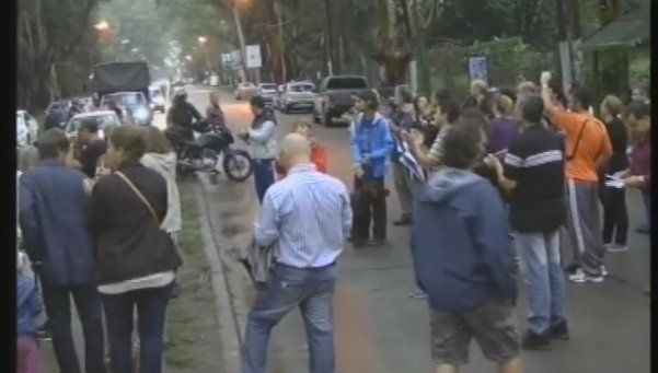 Protesta por inseguridad y calles abandonadas