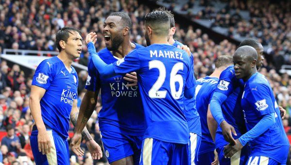 Leicester empató con el United y postergó el festejo histórico