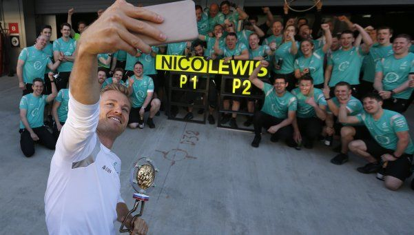Rosberg, imparable: voló en Rusia y ganó la cuarta carrera seguida