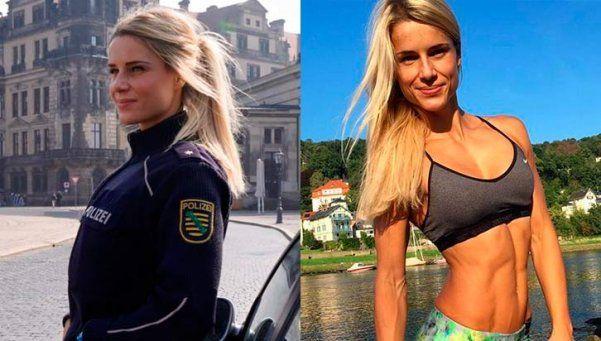 En Alemania, todos quieren ser arrestados por esta policía hot