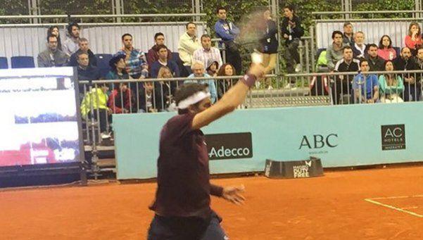 Del Potro fue eliminado en la segunda ronda en Madrid