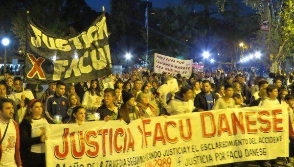 Familiares y amigos de Facundo Danese se movilizaron en reclamo de justicia