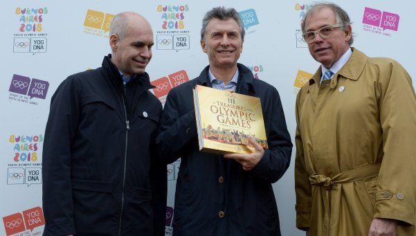 Macri inauguró las obras para los Juegos Olímpicos de la Juventud