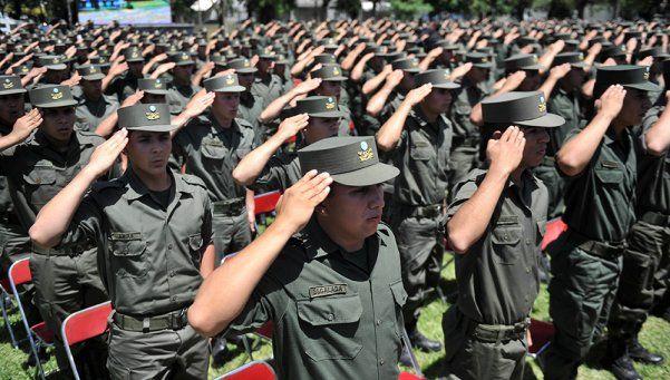 Gendarmería reincorpora 459 agentes separados en conflicto de 2012