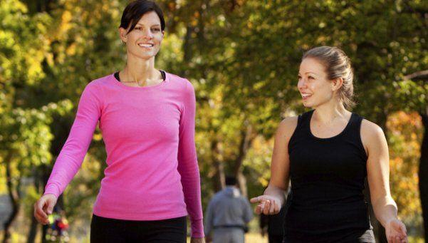 Caminar, un ejercicio cómodo y muy fácil