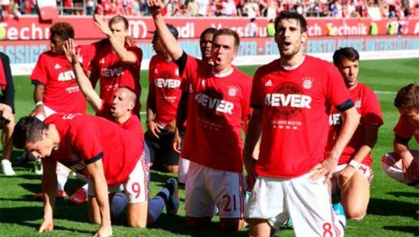 Algo es algo: Bayern se consagró tetracampeón de Alemania