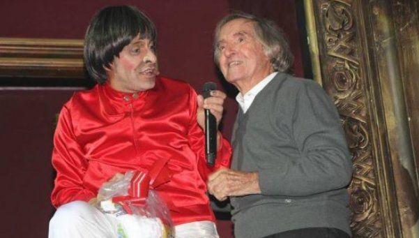 Martín Bossi homenajeó a Carlitos Bala en su show